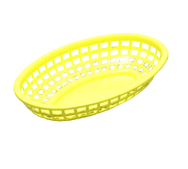 TableCraft Products 1074Y basket, fast food