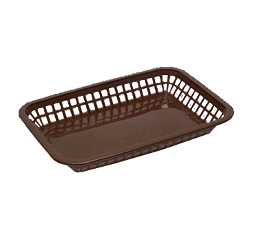 3101-14 TableCraft Products 1079BR basket, fast food