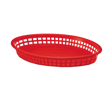 TableCraft Products 1086R basket, fast food