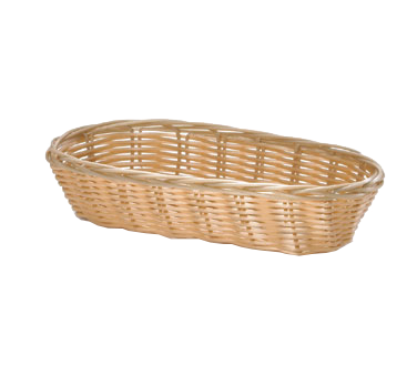 TableCraft Products 1117W basket, tabletop, plastic