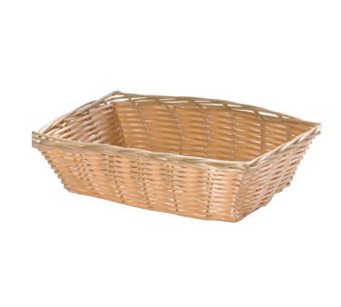 TableCraft Products 1172W basket, tabletop, plastic