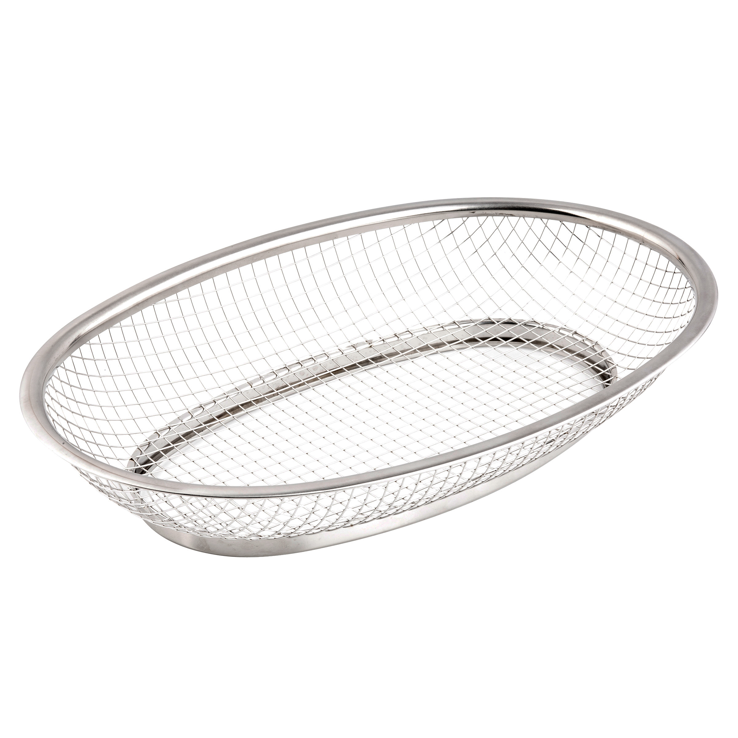 TableCraft Products 123472 basket, tabletop, metal