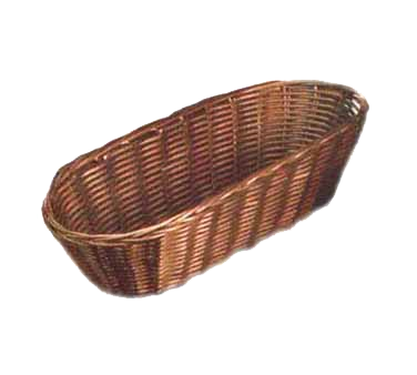 TableCraft Products 1413 basket, tabletop, plastic
