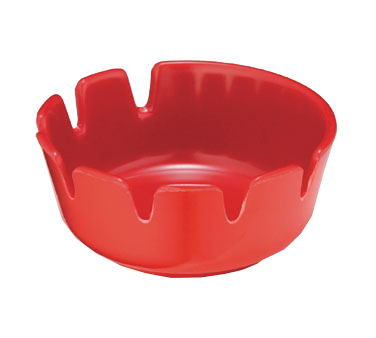 TableCraft Products 265R-1 ash tray, plastic