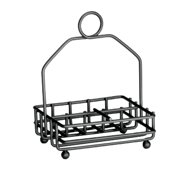 TableCraft Products 593RBK condiment caddy, rack only