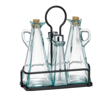 TableCraft Products 61517NBK oil & vinegar cruet set