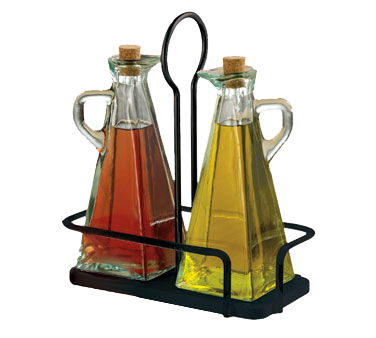 TableCraft Products 617NBK oil & vinegar cruet set