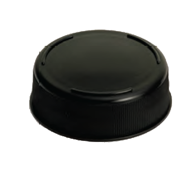 TableCraft Products 63FCAPBK squeeze bottle cap top