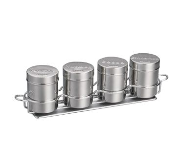 TableCraft Products 759X condiment caddy, rack set