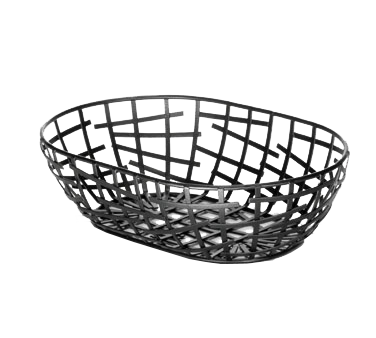 TableCraft Products BC7409 basket, tabletop, metal