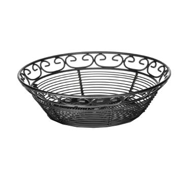 TableCraft Products BK27508 basket, tabletop, metal