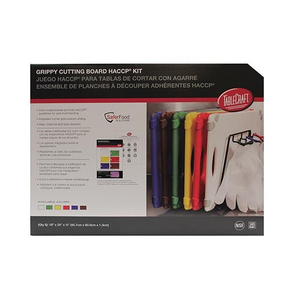 TableCraft Products CBG1824APK6 cutting board, plastic