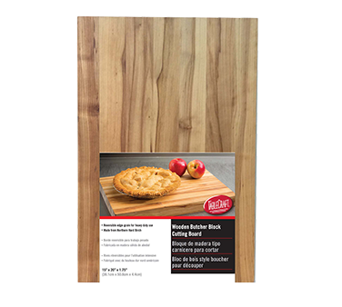 TableCraft Products CBW1520175 cutting board, wood