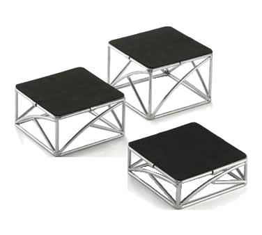 TableCraft Products CR3 display riser, set