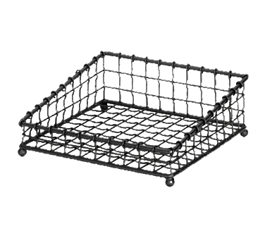 TableCraft Products GM1212 basket, tabletop, metal
