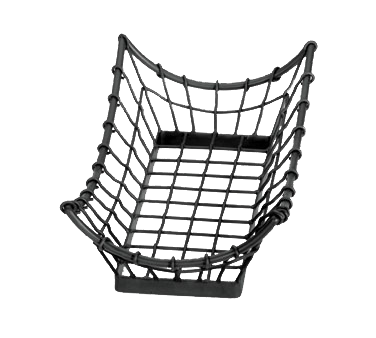 TableCraft Products GM1608 basket, tabletop, metal