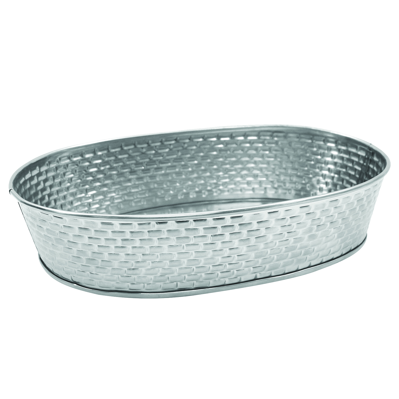 TableCraft Products GPSS96 platter, stainless steel
