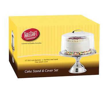 TableCraft Products H821422 cake / pie display stand