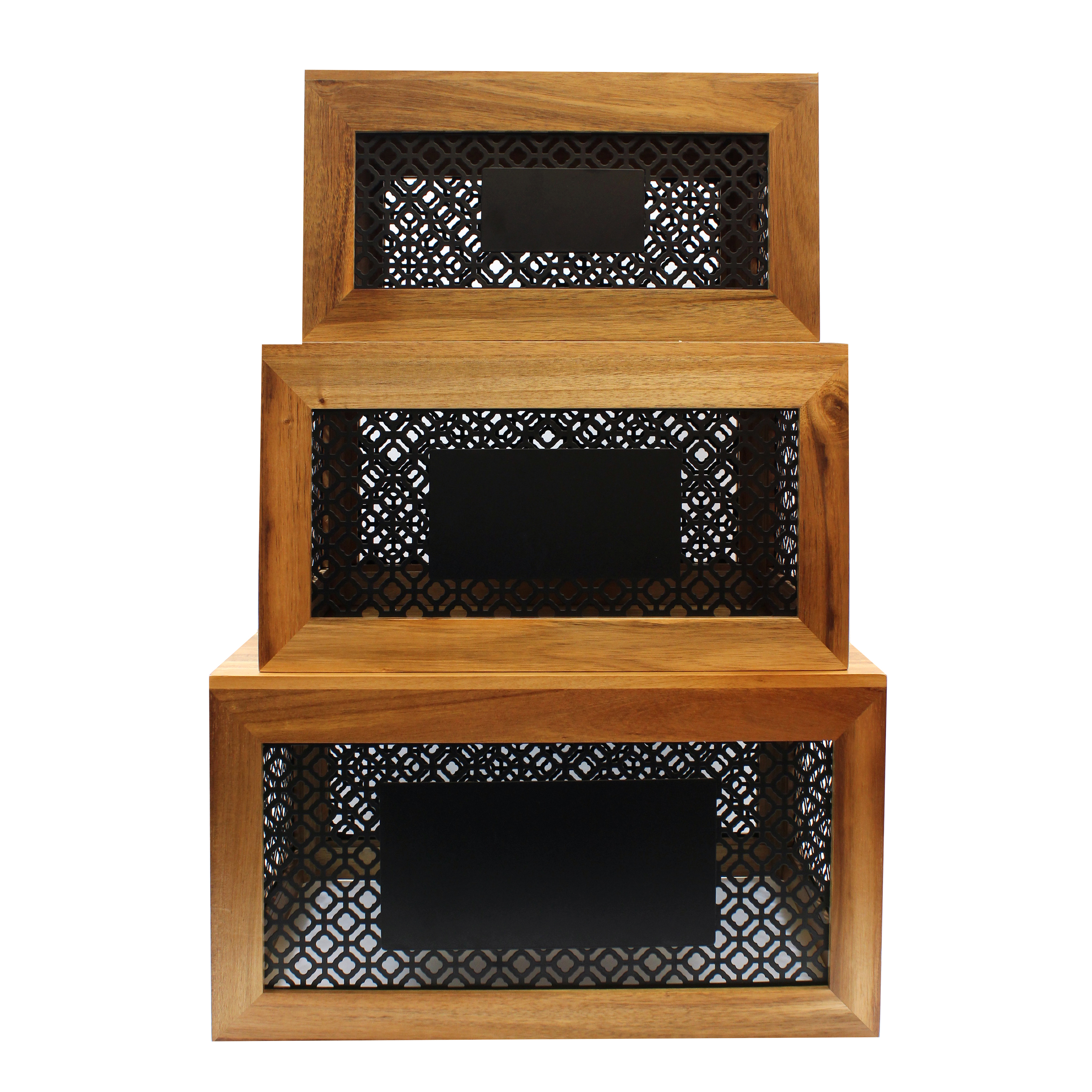 TableCraft Products HFCSET3 display riser, set