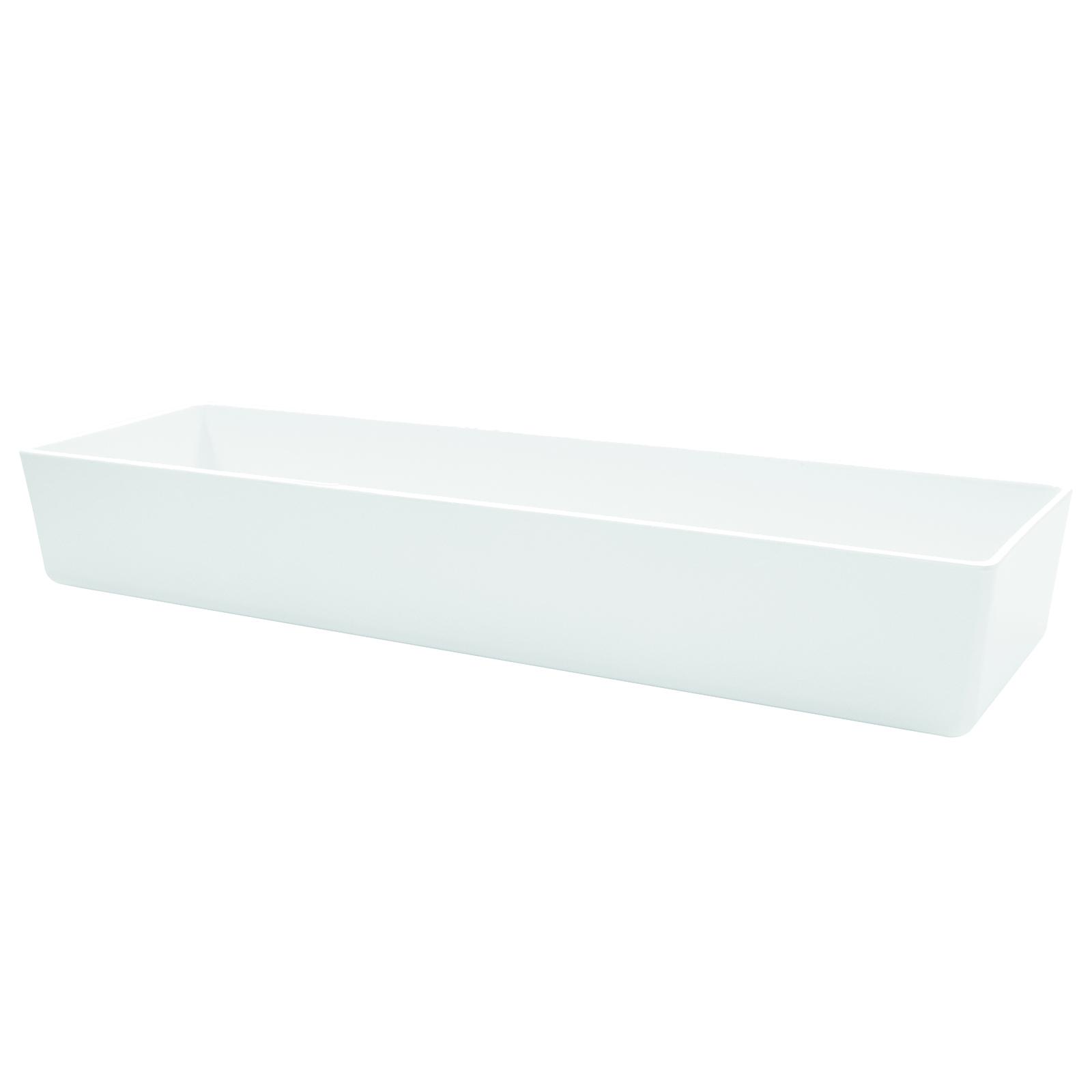 TableCraft Products M4017WH bowl, plastic,  5 - 6 qt (160 - 223 oz)