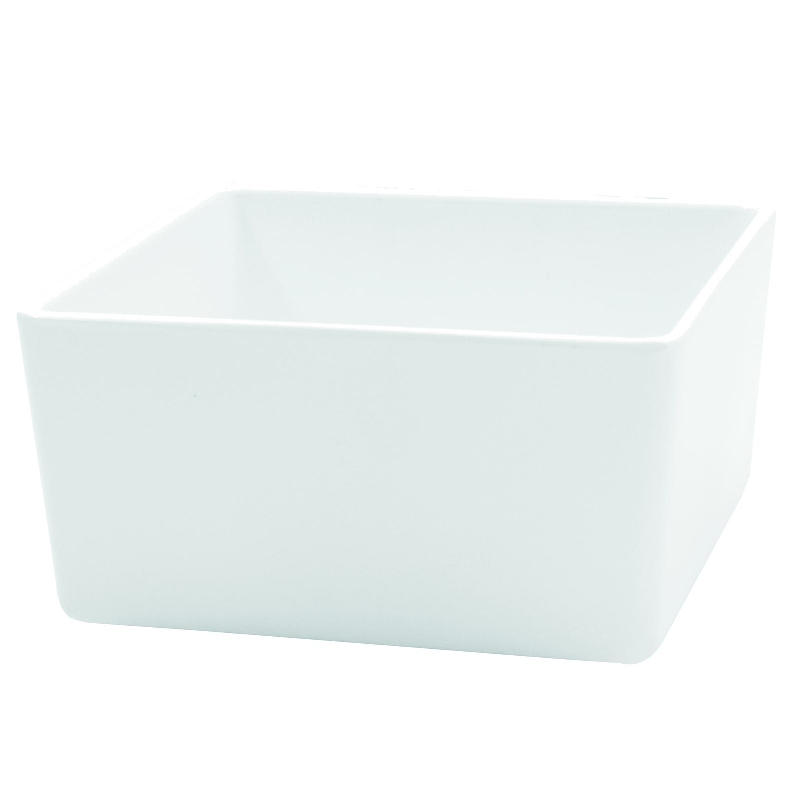 TableCraft Products M4025WH bowl, plastic,  1 - 2 qt (32 - 95 oz)