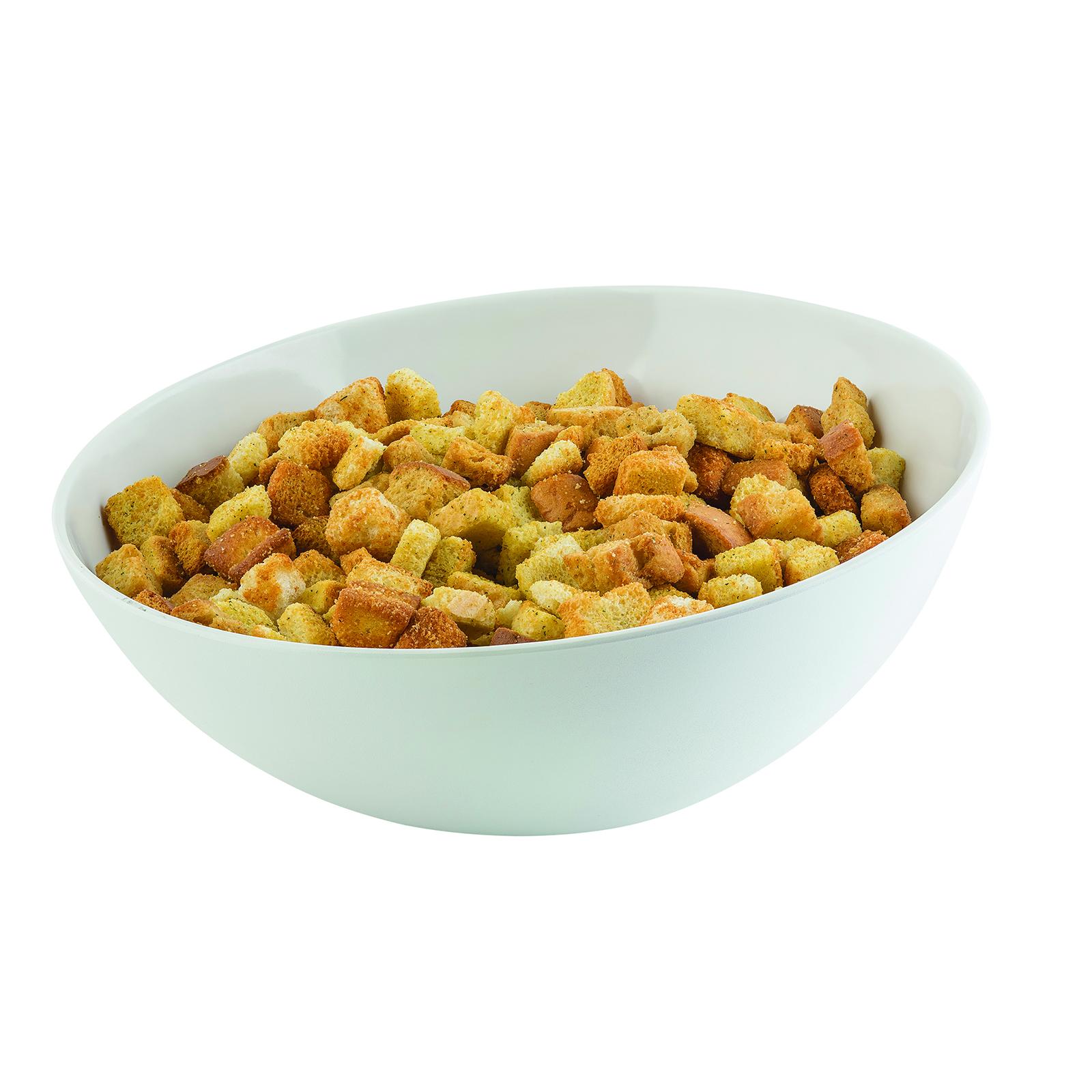 TableCraft Products M4092WH bowl, plastic,  3 - 4 qt (96 - 159 oz)