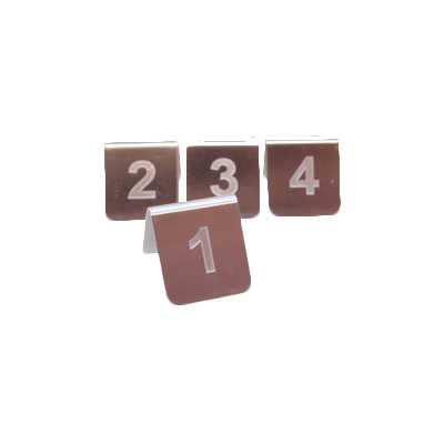 TableCraft Products PT25 tabletop sign, tent / number