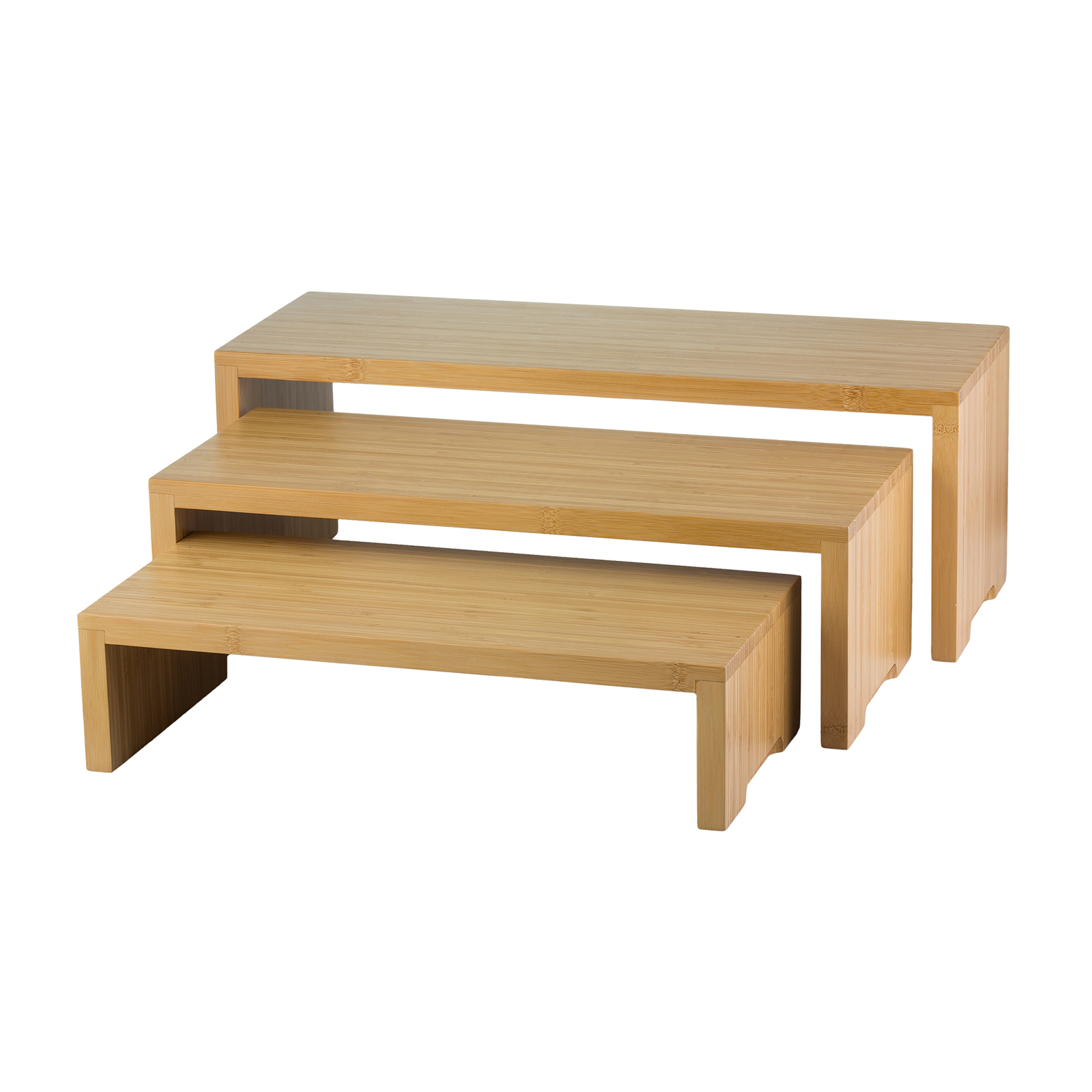 TableCraft Products RBAM300 display riser, set