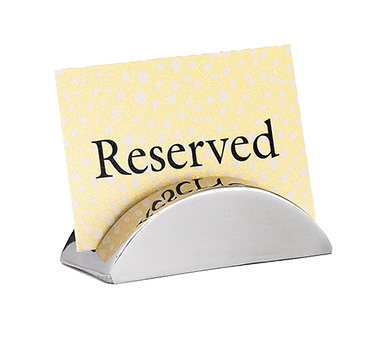 TableCraft Products RCH21 menu card holder / number stand