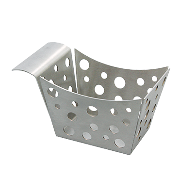 TableCraft Products SCB basket, tabletop, metal