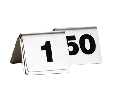 TableCraft Products T150 tabletop sign, tent / number