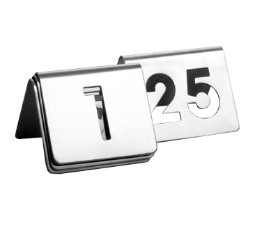 TableCraft Products TC125 tabletop sign, tent / number