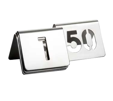 TableCraft Products TC150 tabletop sign, tent / number