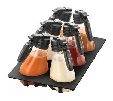 TableCraft Products TN48BK salad dressing rack