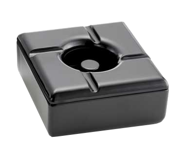 3104-54 TableCraft Products WPA5BK ash tray, plastic