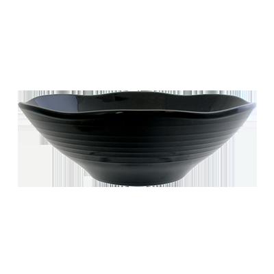 Thunder Group 39093BK soup salad pasta cereal bowl, plastic