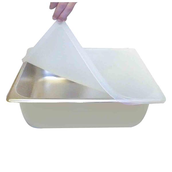 Thunder Group SLSSP4060 food pan cover, hi-temp plastic