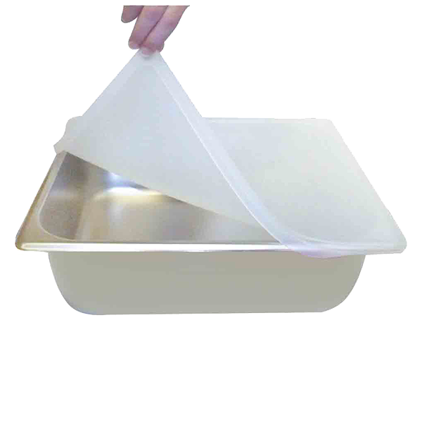 Thunder Group PLFS7120 food pan cover, hi-temp plastic