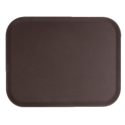 Thunder Group PLFT1418BR serving tray, non-skid