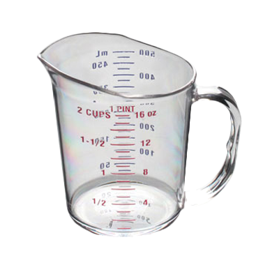 Thunder Group PLMC016CL measuring cups