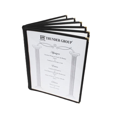 Thunder Group PLMENU-6BL menu cover