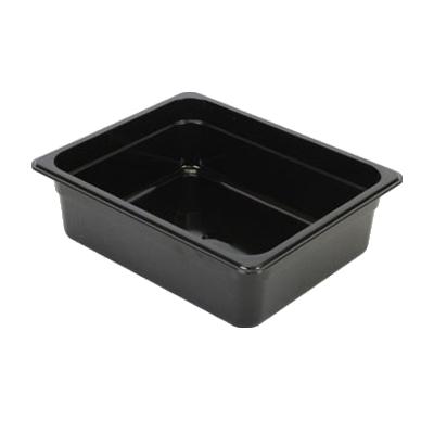 2410-31 Thunder Group PLPA8124BK food pan, plastic