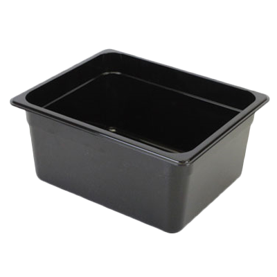 2410-37 Thunder Group PLPA8126BK food pan, plastic