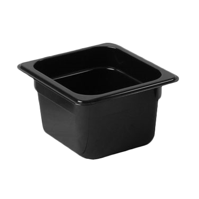 2410-33 Thunder Group PLPA8164BK food pan, plastic