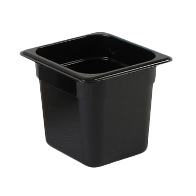 2410-34 Thunder Group PLPA8166BK food pan, plastic