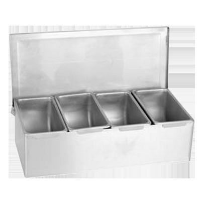 Thunder Group SSCD004 bar condiment holder