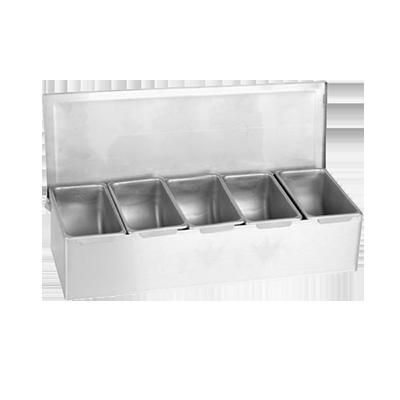 Thunder Group SSCD005 bar condiment holder