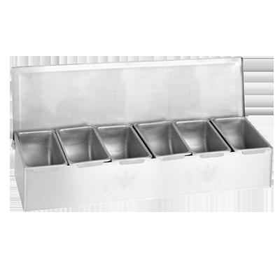 Thunder Group SSCD006 bar condiment holder