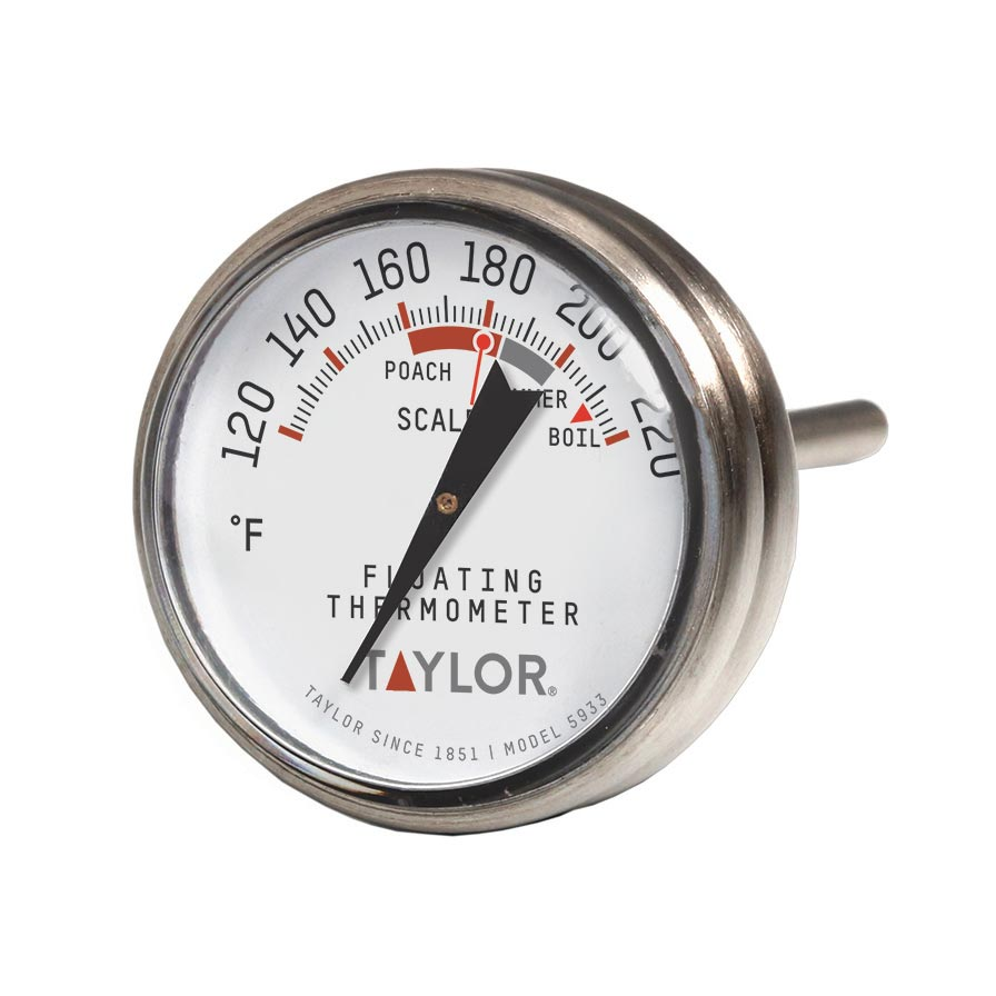 Taylor Precision 5933 thermometer, misc