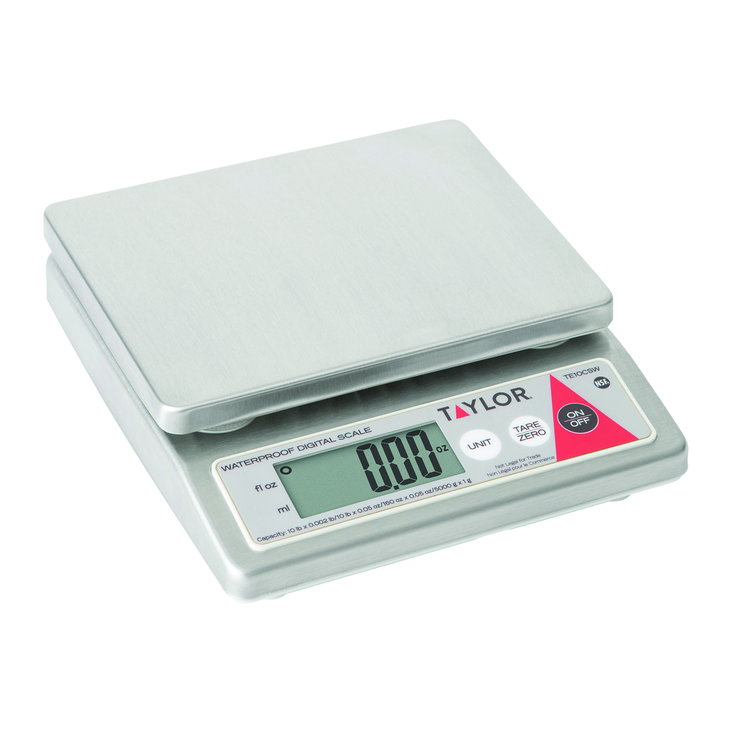 Taylor Precision TE10CSW scale, portion, digital
